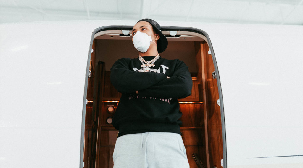 G HERBO DONATES 20,000 MASKS TO COUNTY JAIL